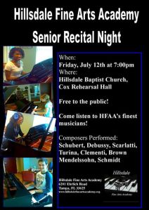 hfaa senior recital
