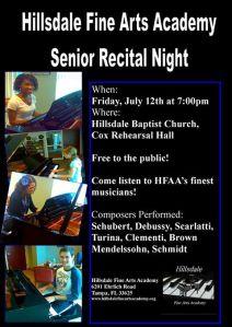 hfaa senior recital