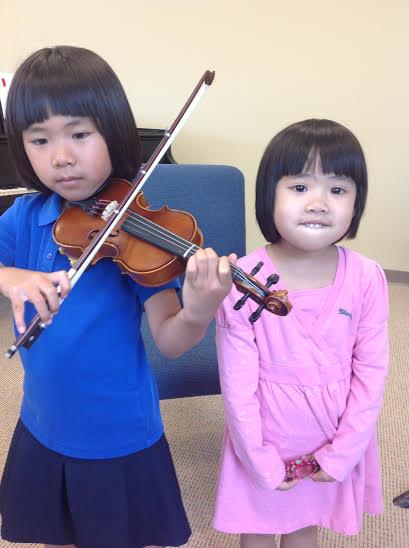 Students violin